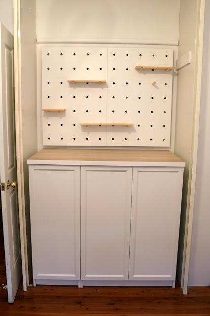 IKEA Hack - Billy Bookcase Storage System Cabinet Hack for Board Games and Home Office - With Doors On