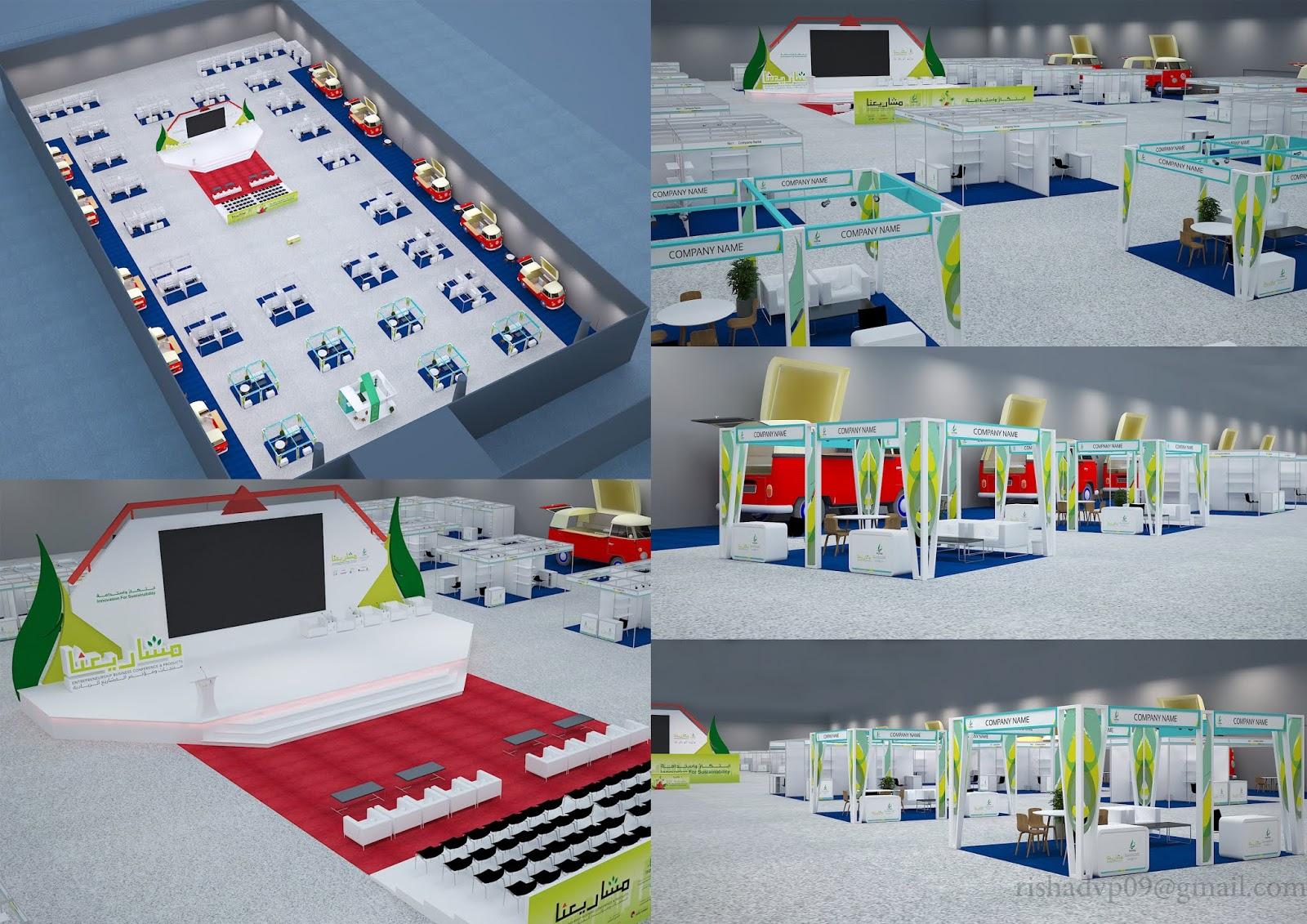 Exhibition Stand Designer Vacancy In Dubai : Rishadvp exhibition stands design