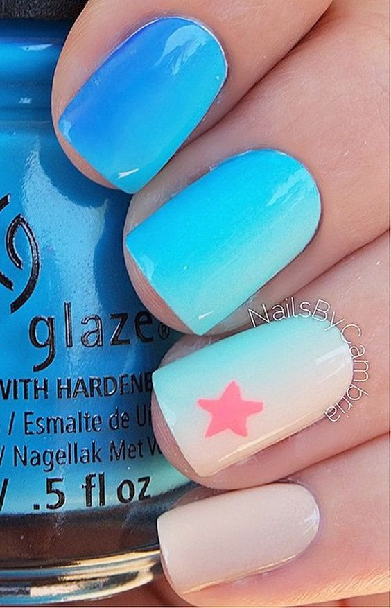 OCEAN NAIL ART IDEAS