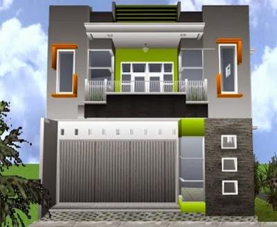 Bentuk-Desain-Rumah-Ruko-Minimalis-Sederhana