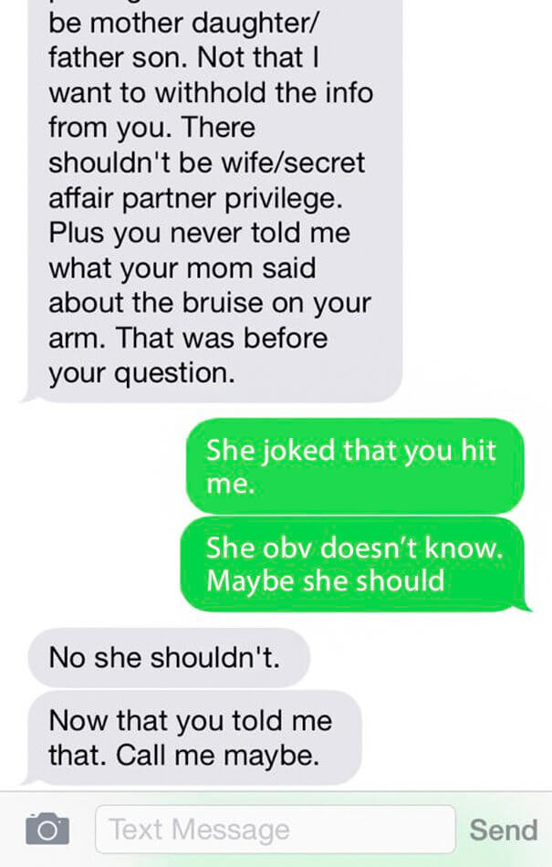 A Woman Shares The Horrifying Texts Her Psycho Ex-Husband Sent Her