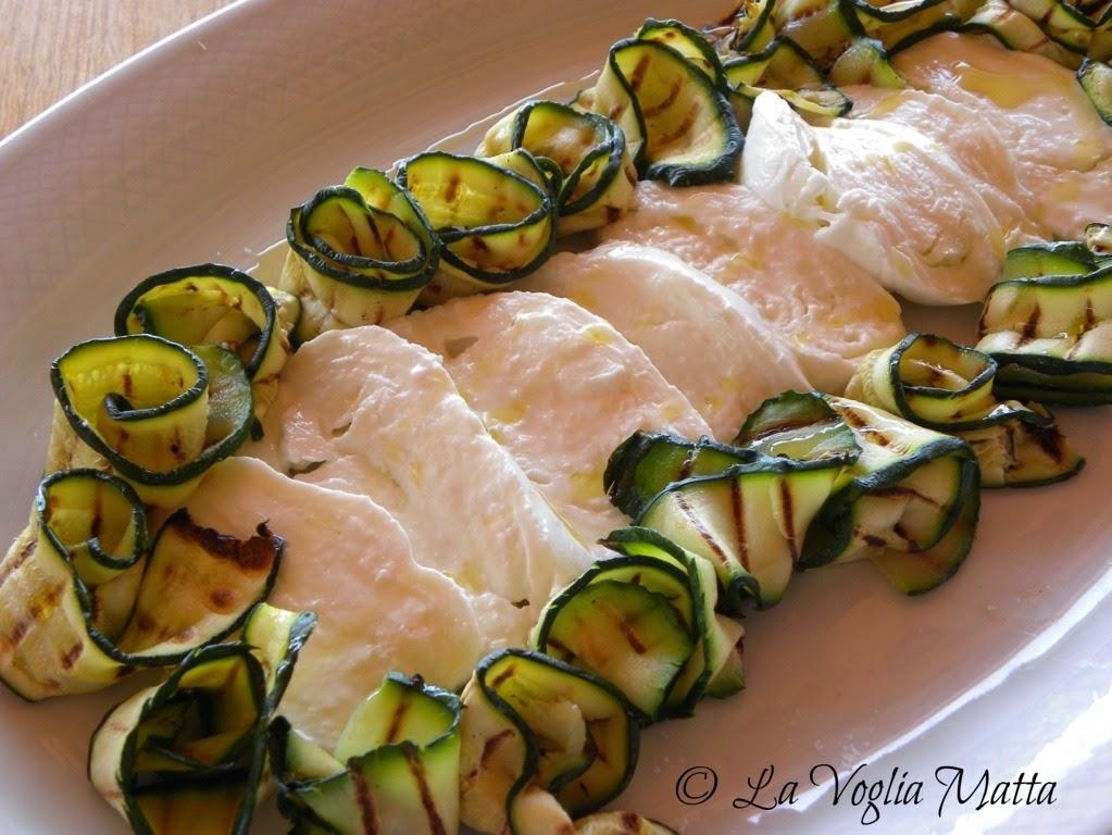 Azienda Beniamino Zidarich  mozzarella carsica e zucchine grigliate