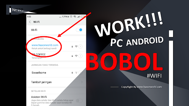 Cara Bobol Password WiFi Tanpa Aplikasi MUDAH di Android / Pc  - HaxorWorld