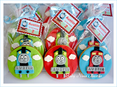 galletas thomas the train
