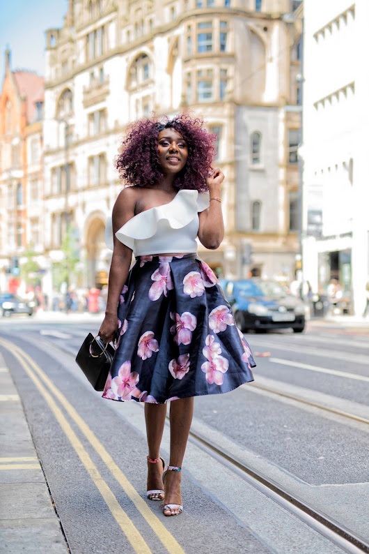 SUMMER OUTFIT | HOW TO STYLE A FLORAL MIDI SKIRT