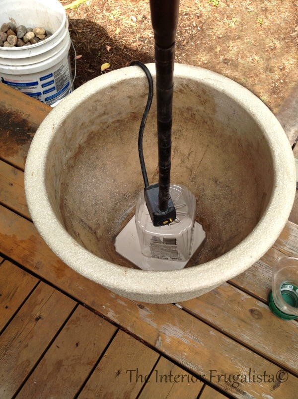Step 2 How To Turn Plant Pots Into Water Fountain