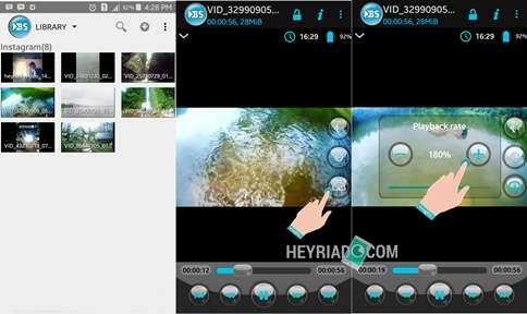 Cara Mempercepat Gerakan Video di Android 2 Cara Mempercepat Gerakan Video di Android
