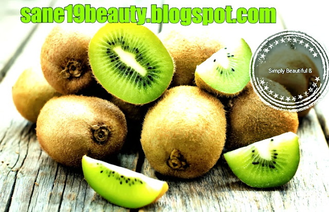 Beauty benefits of kiwi.