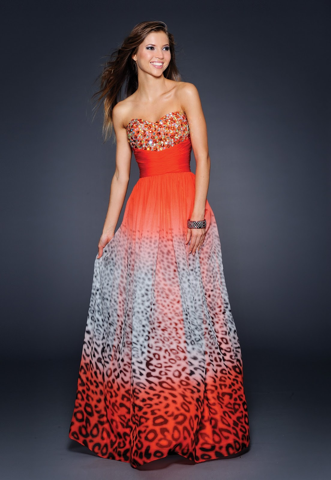 Blog of Wedding and Occasion Wear: Print Long Dresses for ...