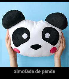 almofada de panda | espanta-papão