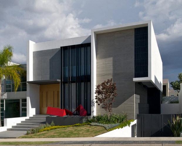 Fachadadecasasmodernas Diseño De Casas Modernas Con Sotano