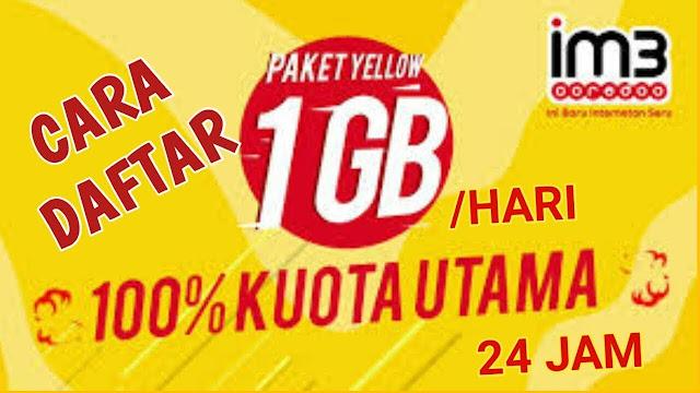 Cara Mudah Daftar Paket Promo Yellow Dari Indosat 2018