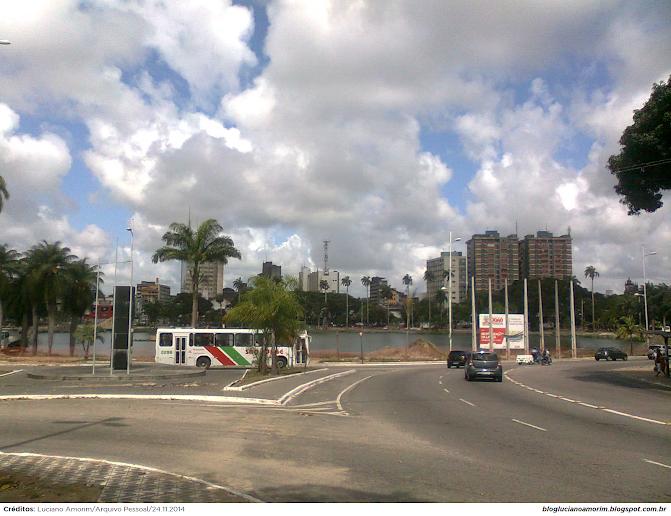 Por Dentro das Notícias: Com atraso, obras do Parque Solón de Lucena em  João Pessoa estão a todo vapor