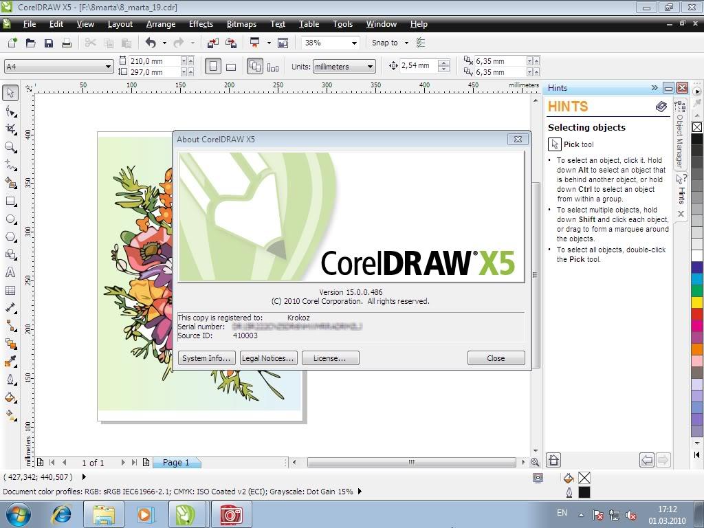 Sejarah CorelDRAW - CorelDRAW Versi X5 (2010)