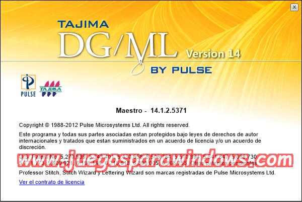 Tajima DG/ML By Pulse v14.1.2.5371 Multilenguaje ESPAÑOL Software De Bordado Profesional 11
