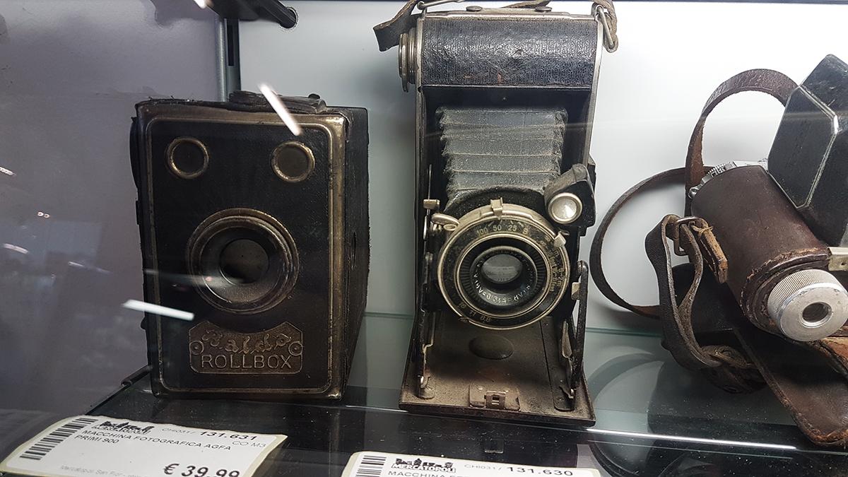 macchine fotografiche vintage Mercatopoli
