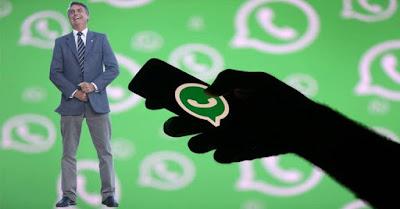 Bolsonaro e WhatsApp