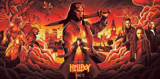 Hellboy (Film 2019) Trailer, lansare si detalii