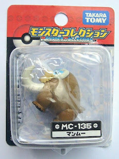 Mamoswine Pokemon figure Tomy Monster Collection MC series
