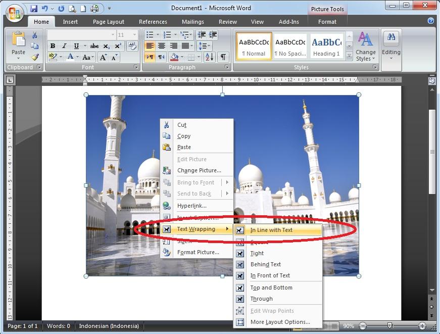 Cara Menggeser Gambar di Microsoft Word dengan Mudah ...