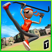 Download Angry Stick Fighter 2017 MOD APK v1.13D for Android Terbaru Juli 2017 Gratis