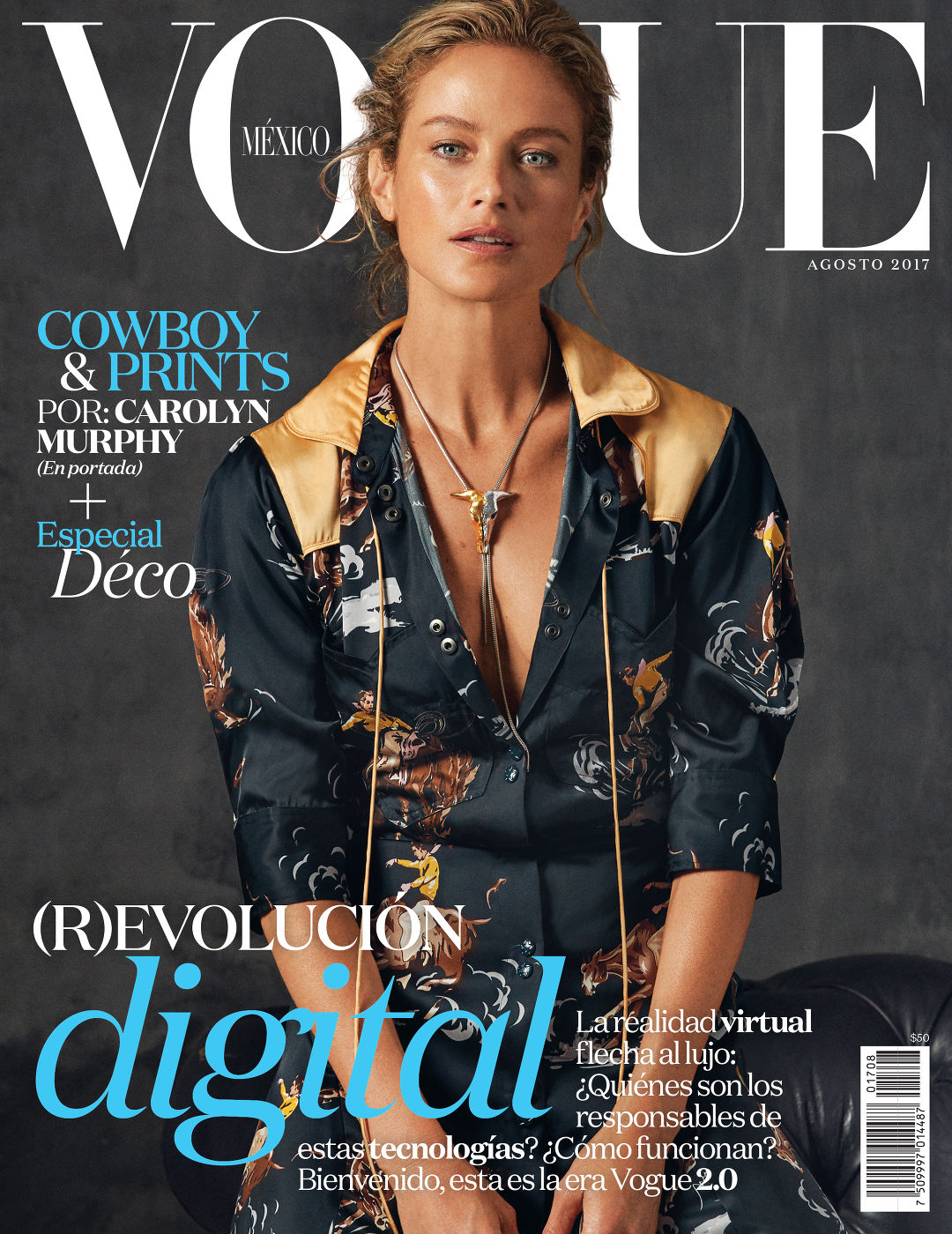 76908bb3085ec 39 Lolas  Carolyn Murphy by Will Davidson for Vogue Mexico August 2017