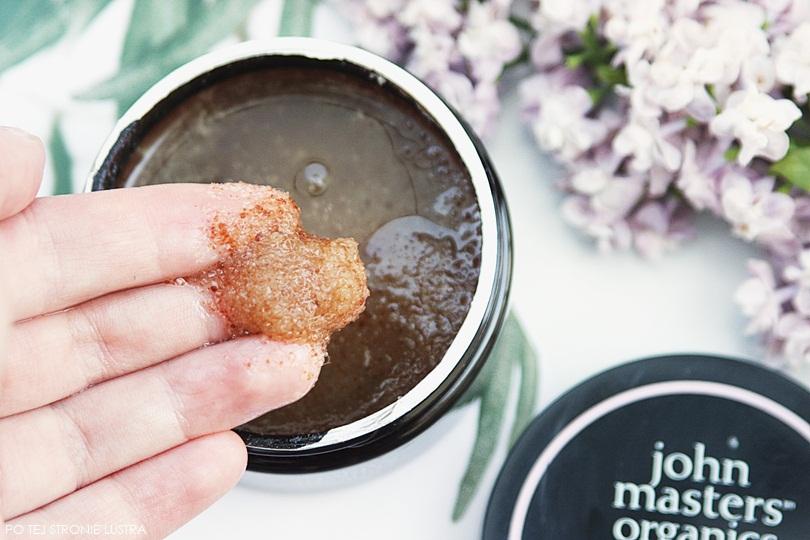 peeling cukrowy john masters organics