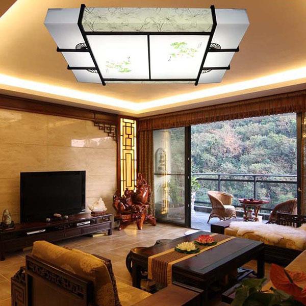 Mẫu trần nhà phòng khách 1