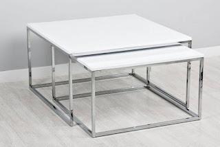 conjunto mesas nido modernas