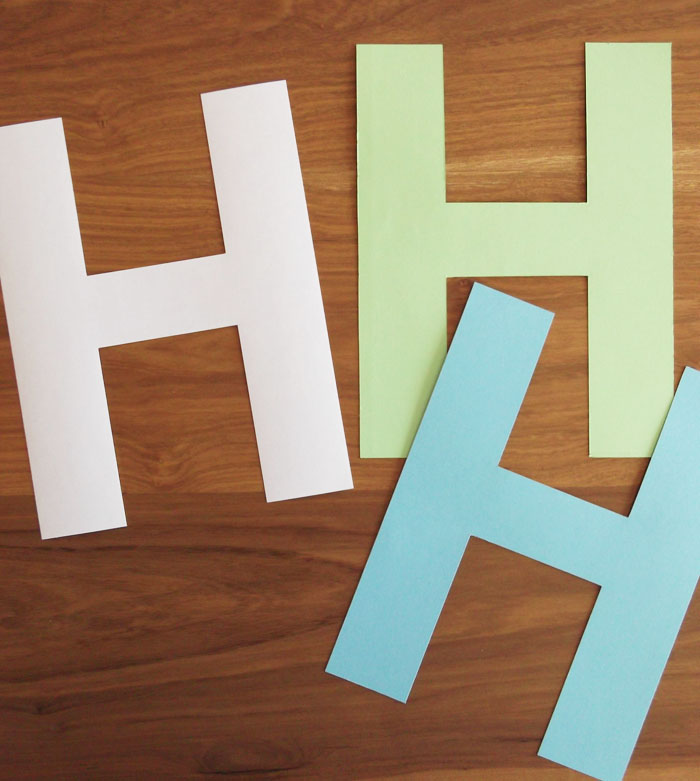 How to Make a 3D Letter of Paper