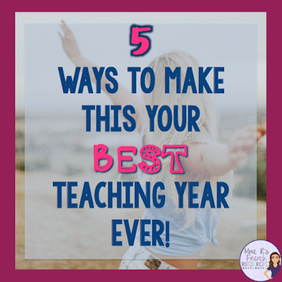 Have a great teaching year with these tips from a veteran teacher.