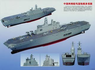 Kapal Serbu Amfibi LHD Type 075 Pertama