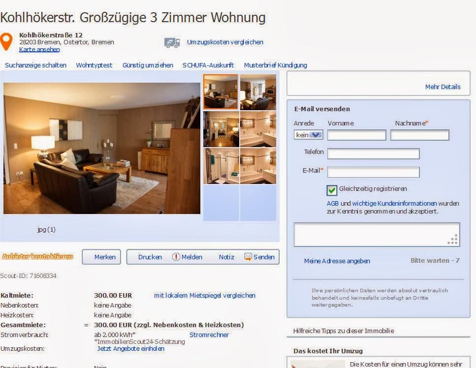 Zimmer Wohnung Bremen