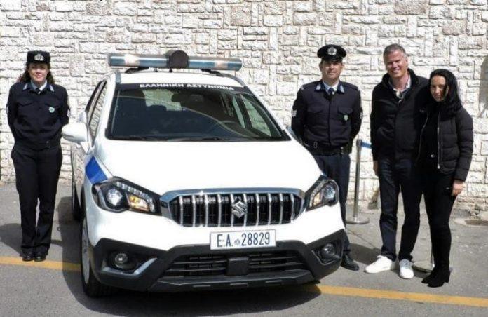 Γερμανός πολίτης  δώρισε στην Αστυνομία Κέρκυρας περιπολικό αυτοκίνητο!