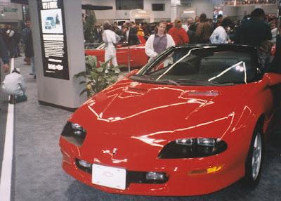 1997 Chevrolet Camaro at the 1997 Portland International Auto Show