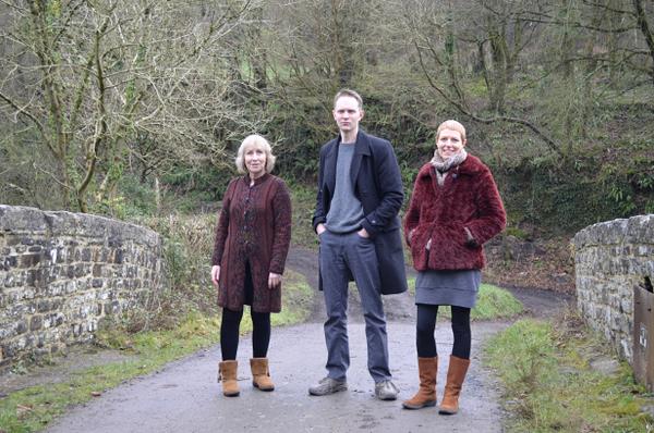 Liz Shakespeare, Nick Wyke and Becki Driscoll