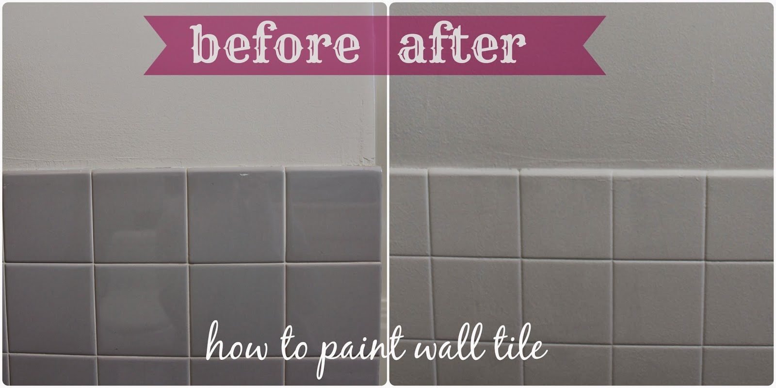 Painting bathroom tile for How to paint tiles bathroom