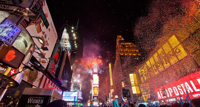New Year's Eve in New York, Times Square
