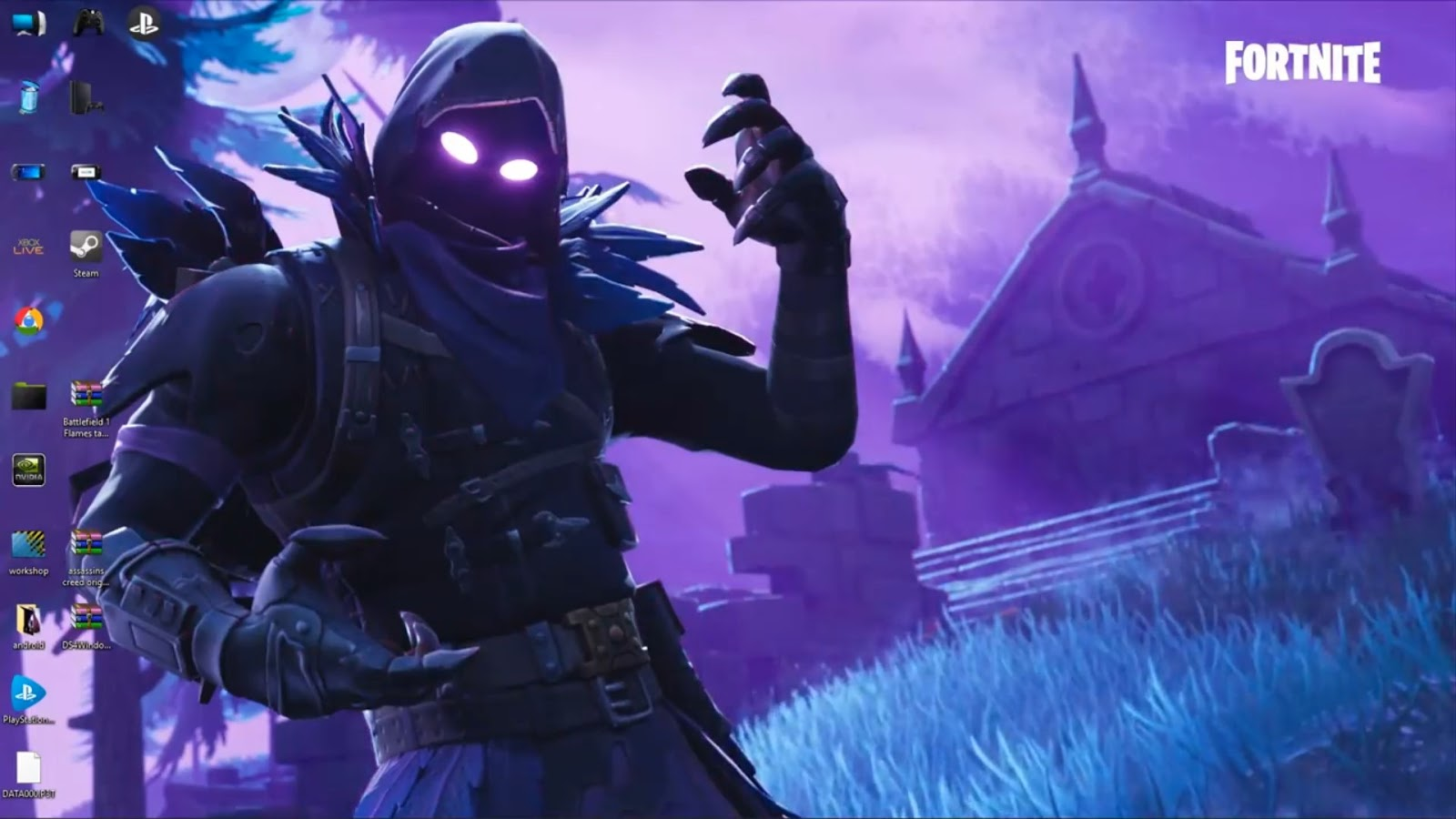wallpaper engine Fortnite Raven free download - wallpaper engine