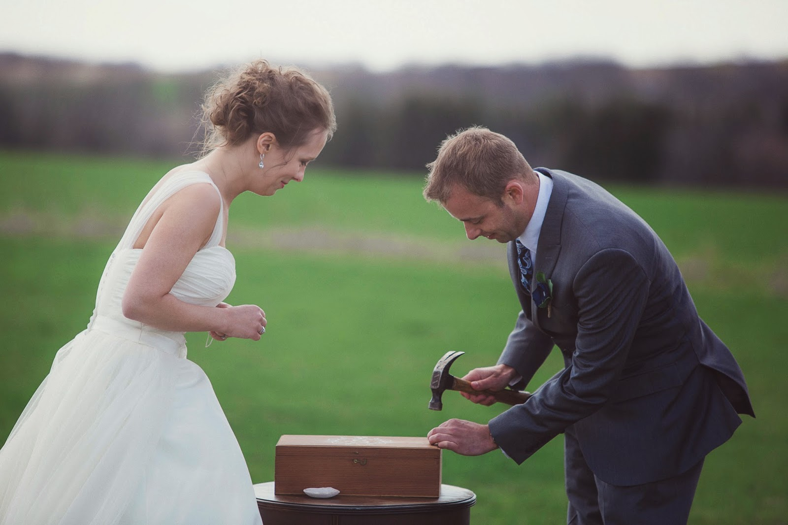 love box wedding ceremony