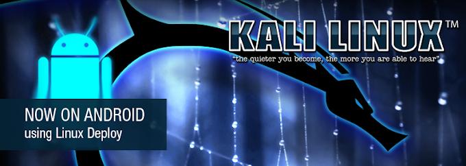 Cài đặt Kali Linux trên trên Android bằng Linux Deploy