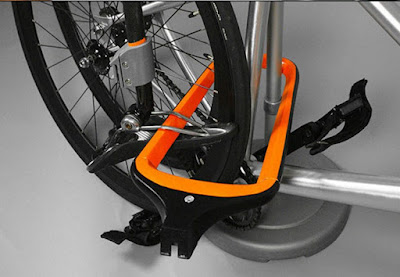 Double-Duty Bike Racks gembok sepeda