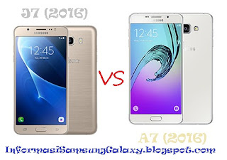 Harga dan Spesifikasi Galaxy J7 (2016) vs A7 (2016)