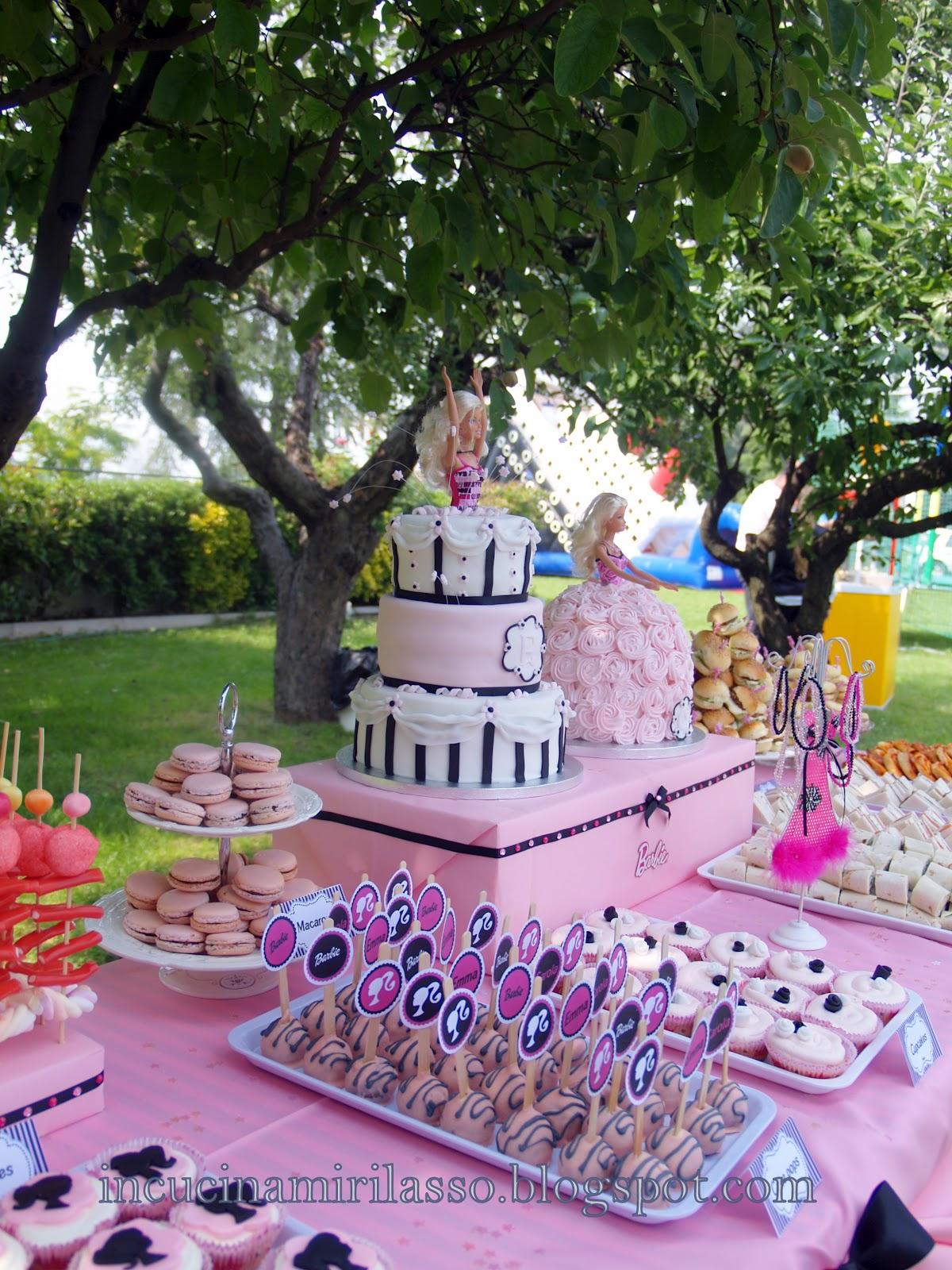 In cucina mi rilasso doppia torta e buffet di compleanno for Decorazioni festa compleanno