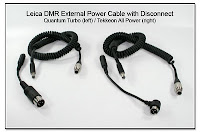 Leica DMR External Power Cable with Disconnect: Quantum Turbo & Tekkeon All Power