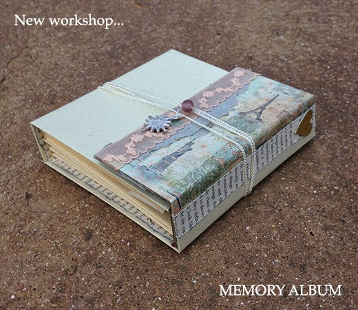 New workshop...Memory Album