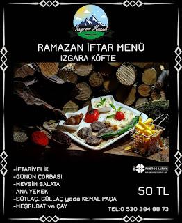 sayrem masalı maşukiye iftar yerleri maşukiye iftar fırsatları maşukiye iftar menüsü