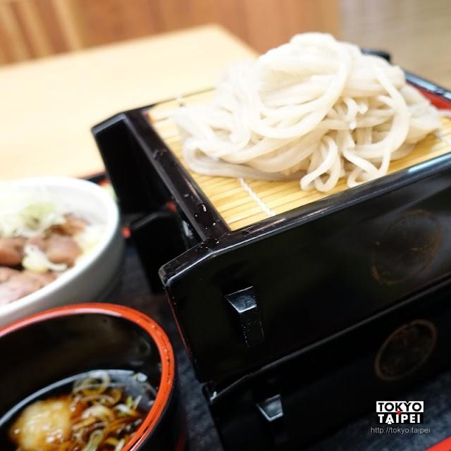 【一會庵】顏色淺但香氣深的蕎麥麵 搭美味炭火燒蔥鴨丼