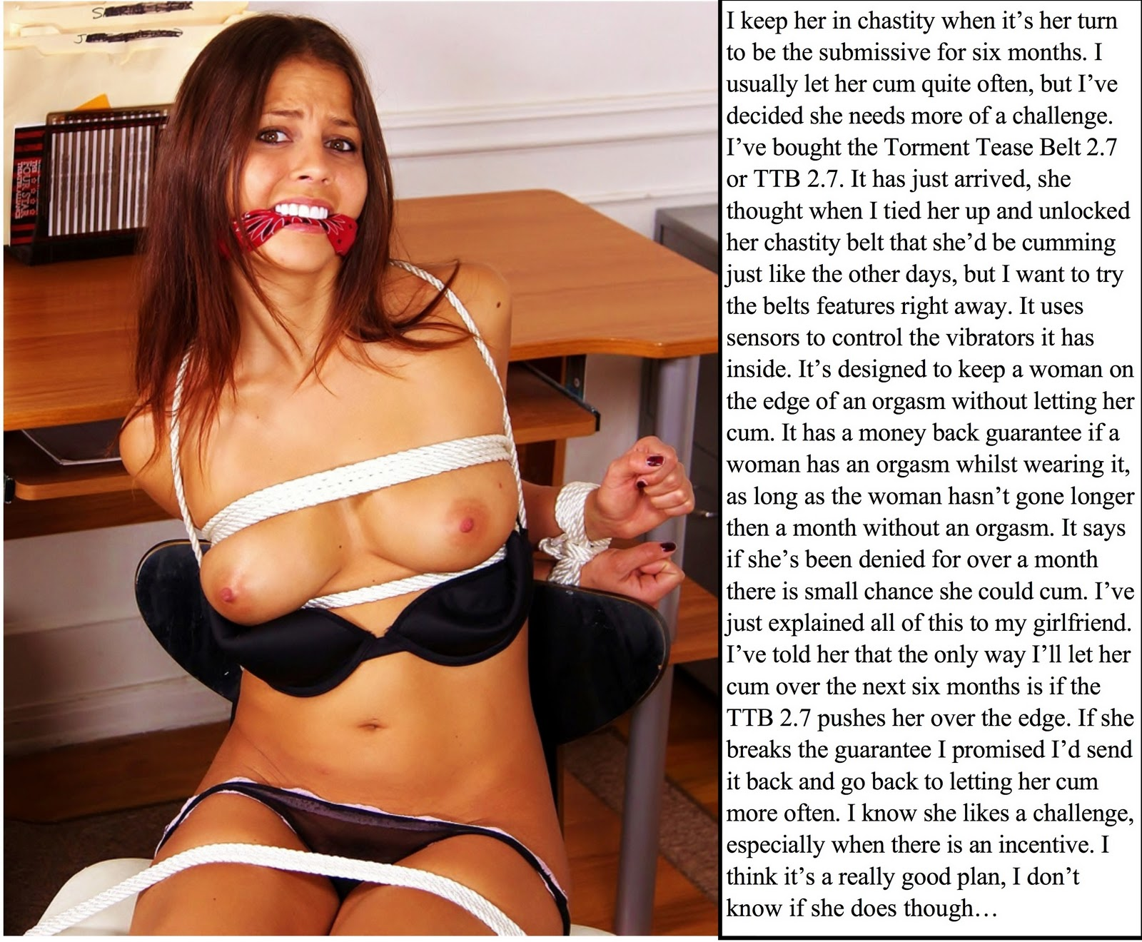 Excellent tg ex girlfriend caption porn have
