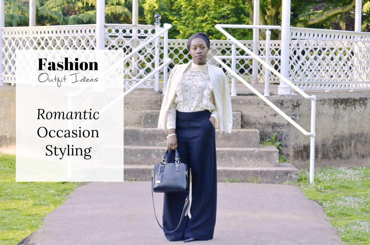 Romantic occasion styling outfit idea from Jade With Envy